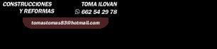 Construcciones y reformas en Calpe y alrededores | Toma Ilovan
