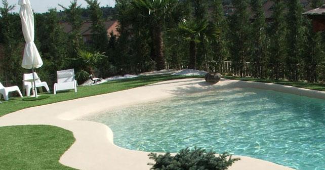 Construcción piscina de arena en Calpe
