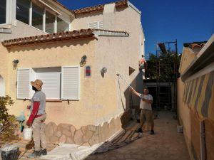 servicio pintura chalets